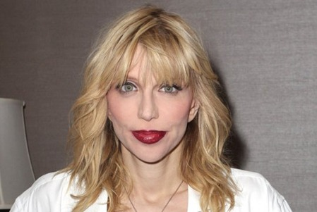 Courtney Love - Triangle face