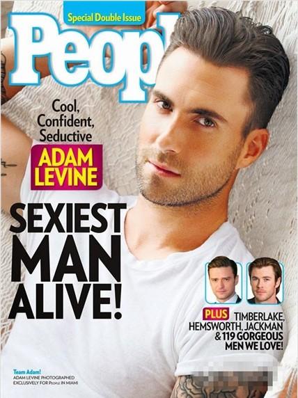 Adam Levine on People