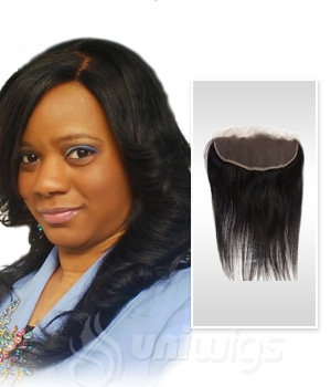 Natural Straight Free Part Lace Frontal