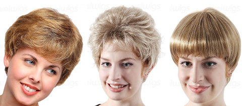 Pixie Synthetic Wigs