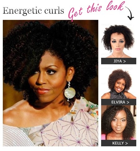 Michelle Curly Hairstyle
