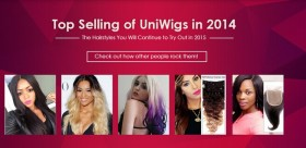 Uniwigs Announces its Top Selling Products of 2014; Trending Hairstyles for 2015