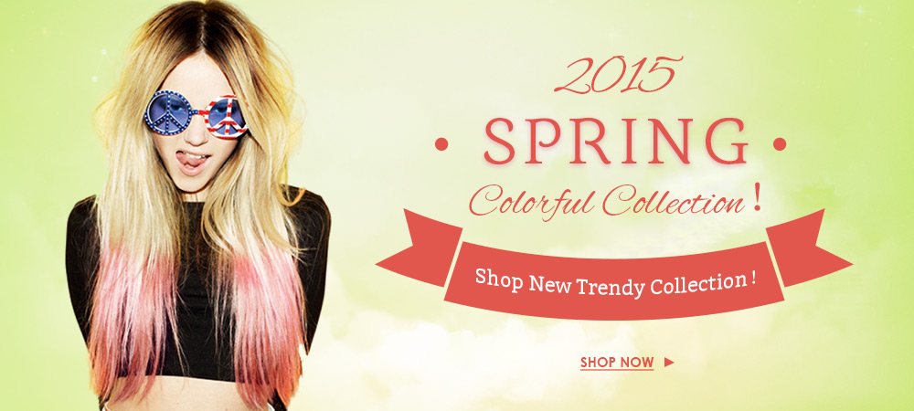 Uniwigs Released Spring Colorful Wig Collection; Biggest Hair Color Trend in 2015