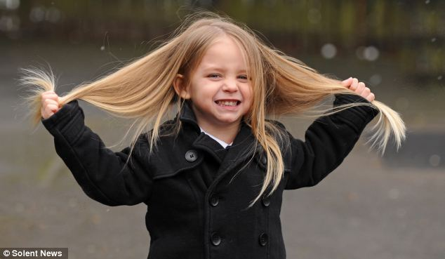 Boy Grows Out His Hair for 2 Years to Donate to Kids With Cancer