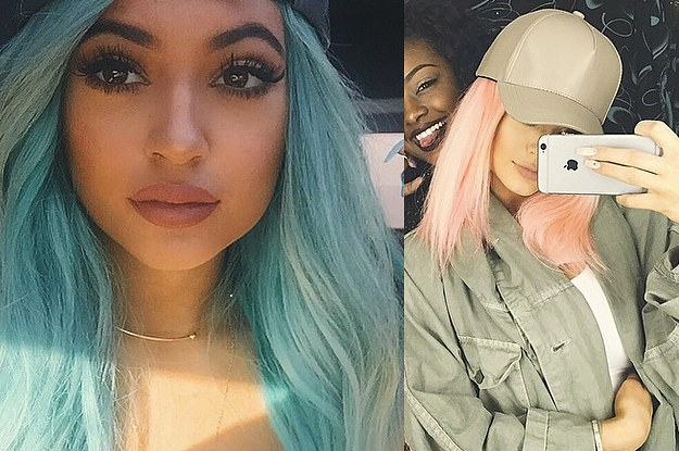 Kylie Jenner Has Long, Turquoise Hair for Coachella: See Her Bold Look!
