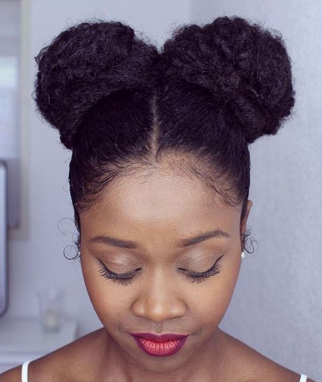 Minnie Mouse Buns