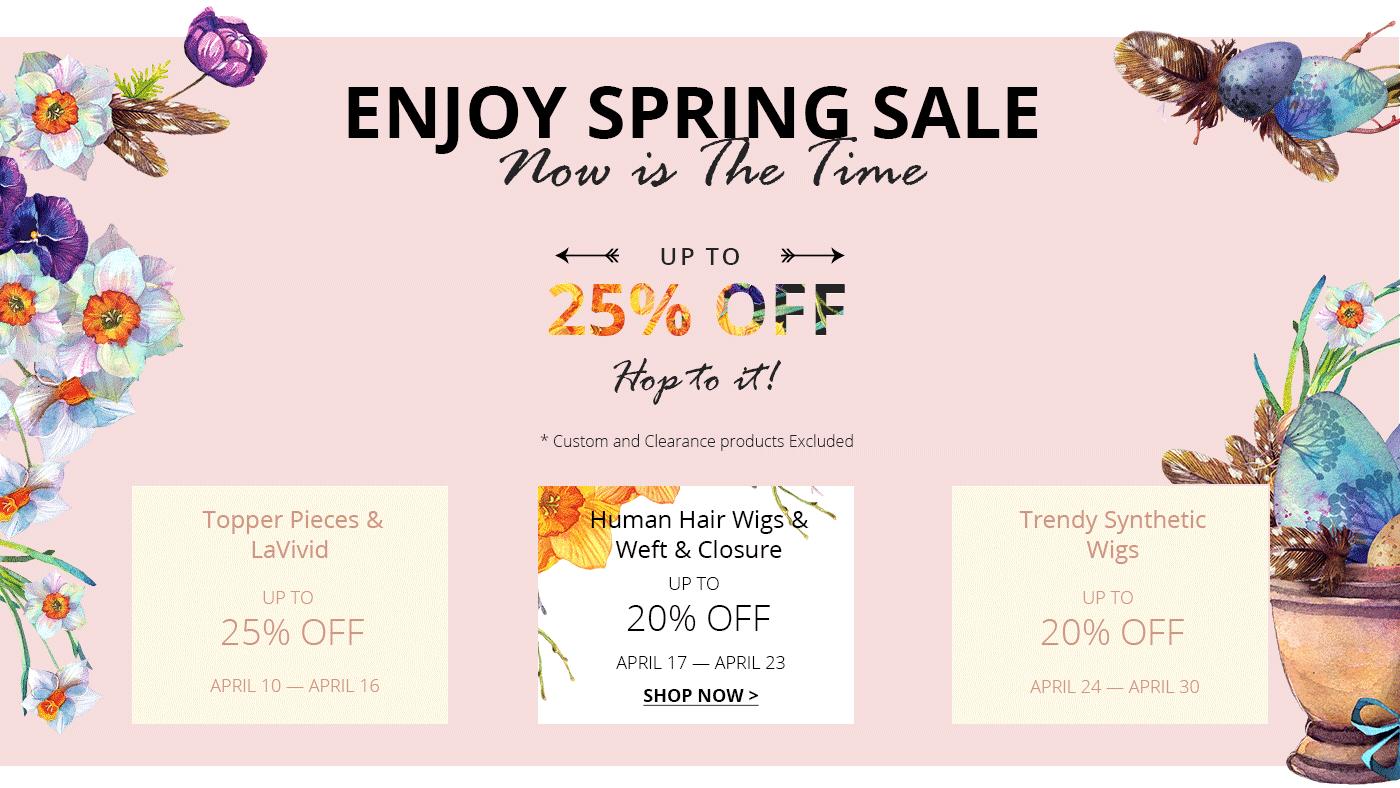 UniWigs Spring Sale: African American Week