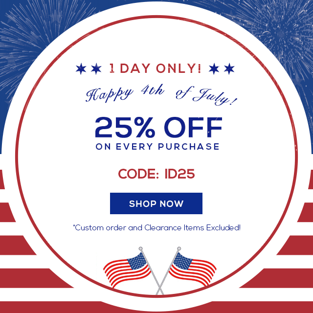 One Day Sale for Independence Day 2017