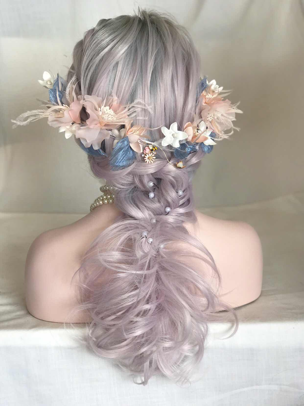 2017-uniwigs-trendy-new-arrival-ombre-lilac-wigs 04