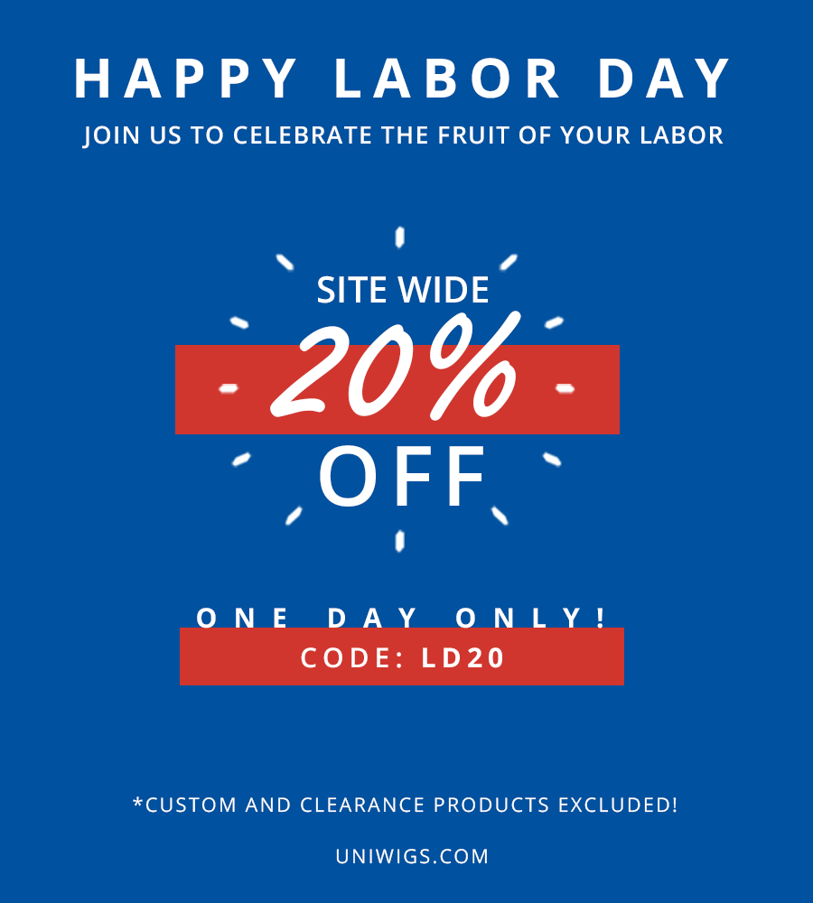 20% OFF only for one day – Labor Day Sale 2017