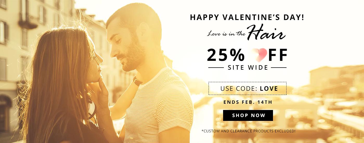 UniWigs Valentine's Day Sale