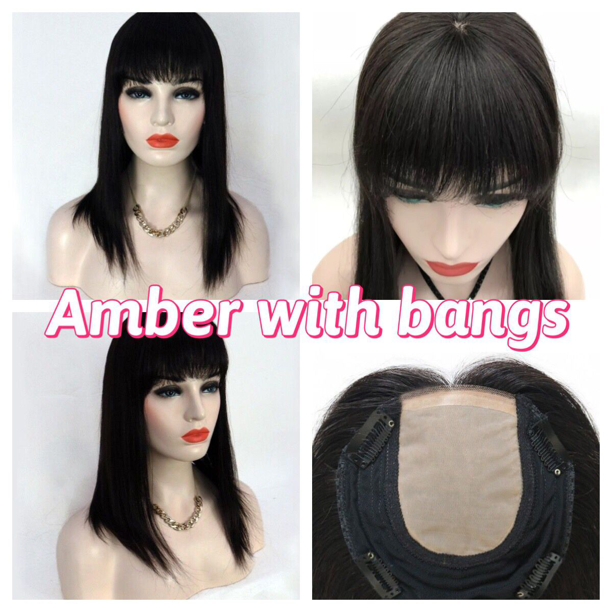 UniWigs Amber with bangs