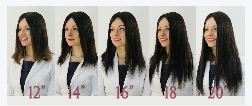 hair topper length