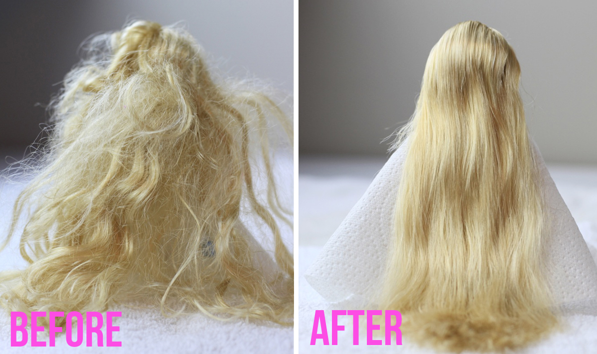How to restore a tangled wig