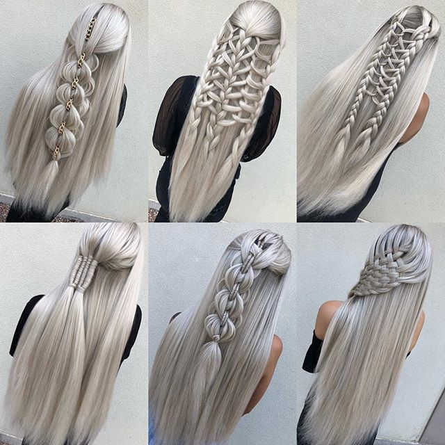 gray wigs